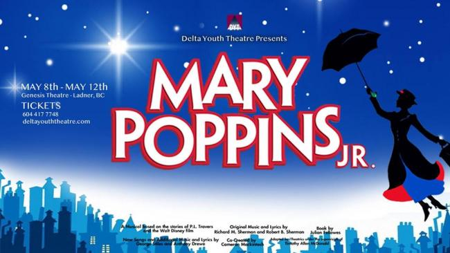 Mary Poppins, Jr - Genesis Theatre | Kids Out and About Vancouver